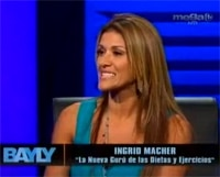 Ingrid Macher on MegaTV Jaime Bayly