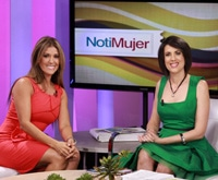 Ingrid Macher on CNN Notimujer with Mercedes Soler