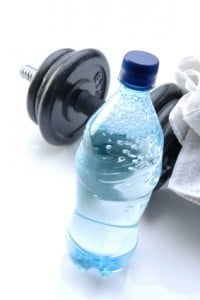 water-dumbell