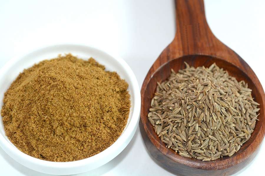 Cumin Seeds and powder